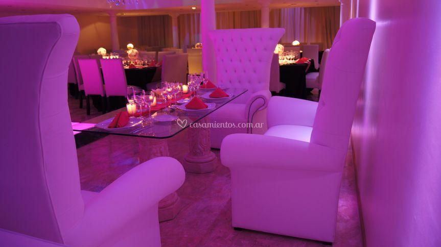Mesa principal de estilo