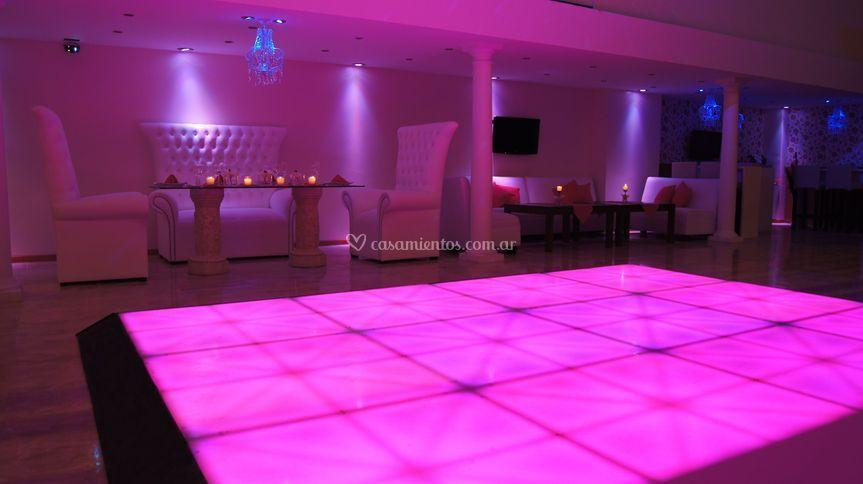 Pisa de baile LED