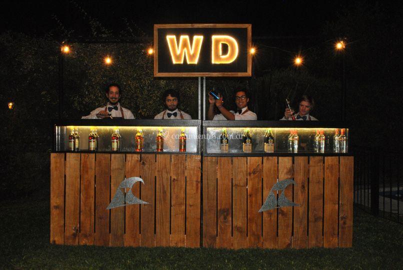 Gran equipo de bartenders
