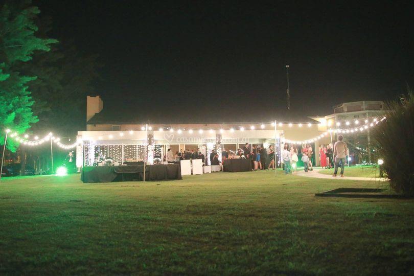 Iluminación kermesse