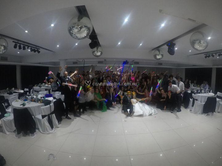 Foto de fin de fiesta