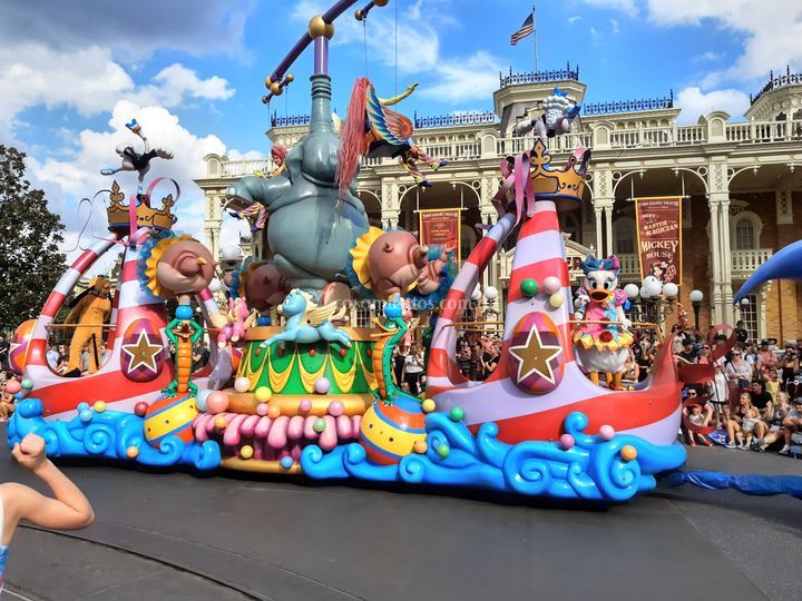 Desfile Magic Kigdom