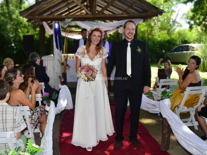 Casamiento en Estancia