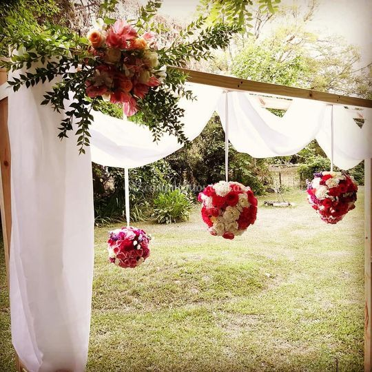 Altar para boda incluido