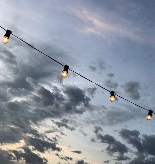Guirnaldas luces led