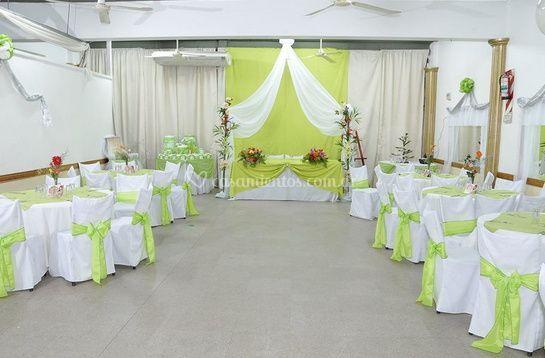 Elegante salón para su evento