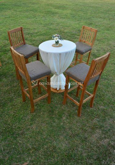 Mesas altar románticas