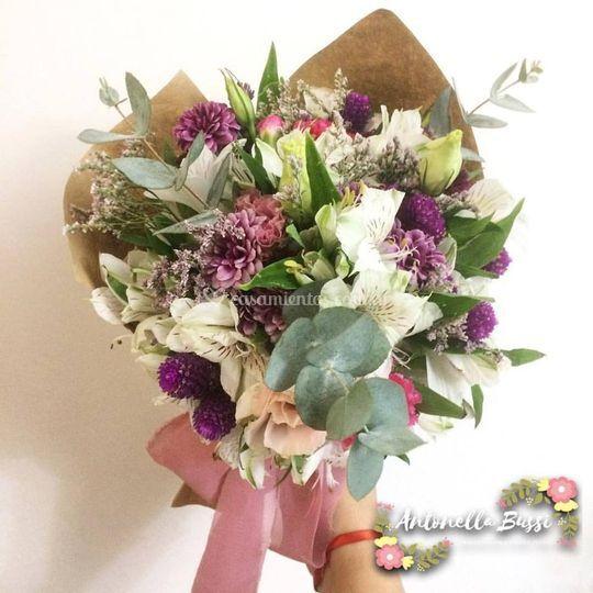 Bpuquet con mix de flores