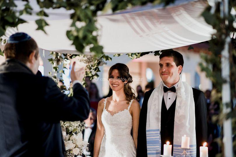 Hermosa boda judía