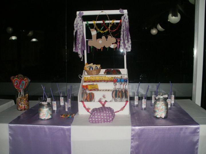 Candy bar en boda