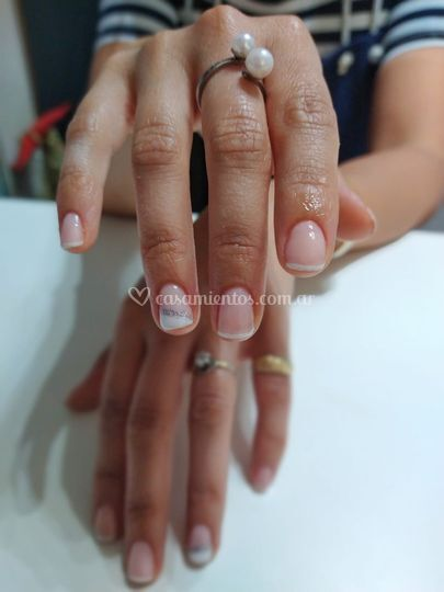 Uñas de la novia