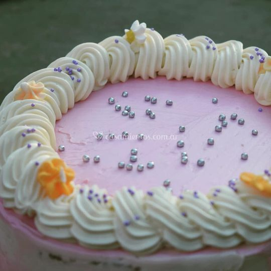 Torta de crema de manteca