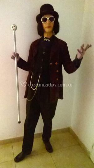 Personaje tematicos: Willy Wonka