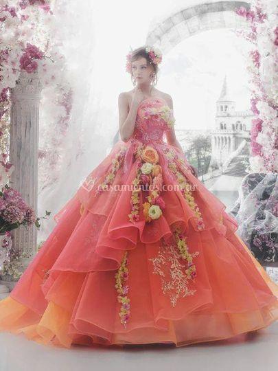 Vestidos artesanales quince