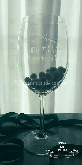 Copas cristal personalizadas