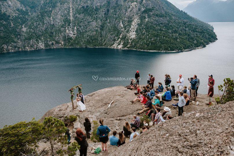 Ceremonia de montaña