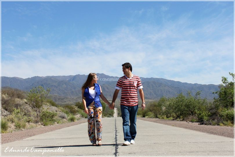 Angie y Juan Pablo exterior