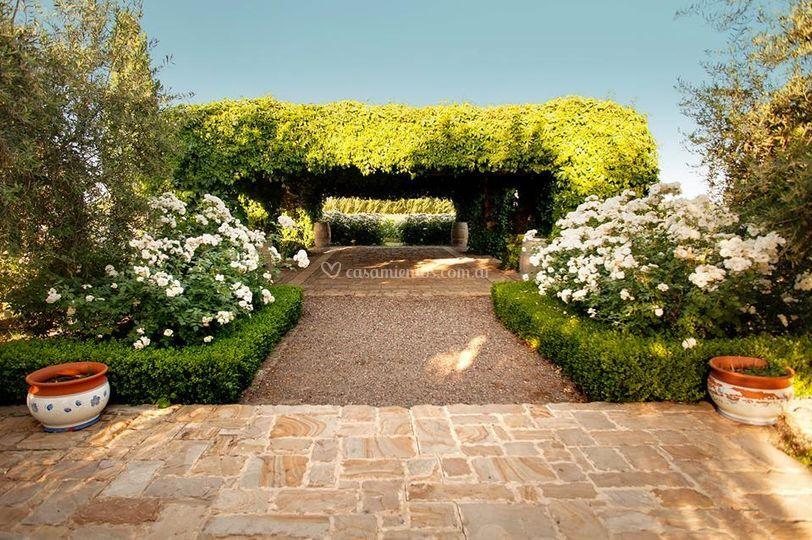 Coqueto jardín