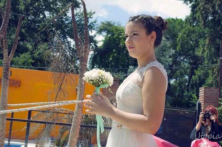 Ceci en su boda