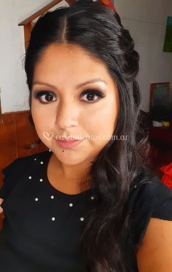 Pao Portal makeup & hairstyle