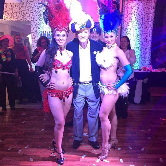 Con bailarinas
