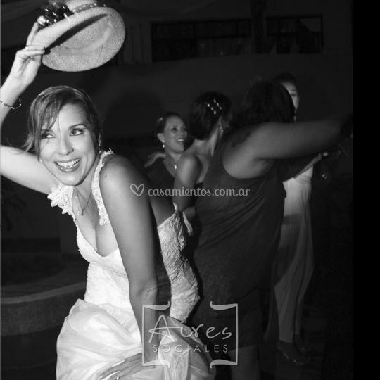 Novia en la fiesta