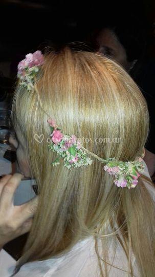 Coronita de flores