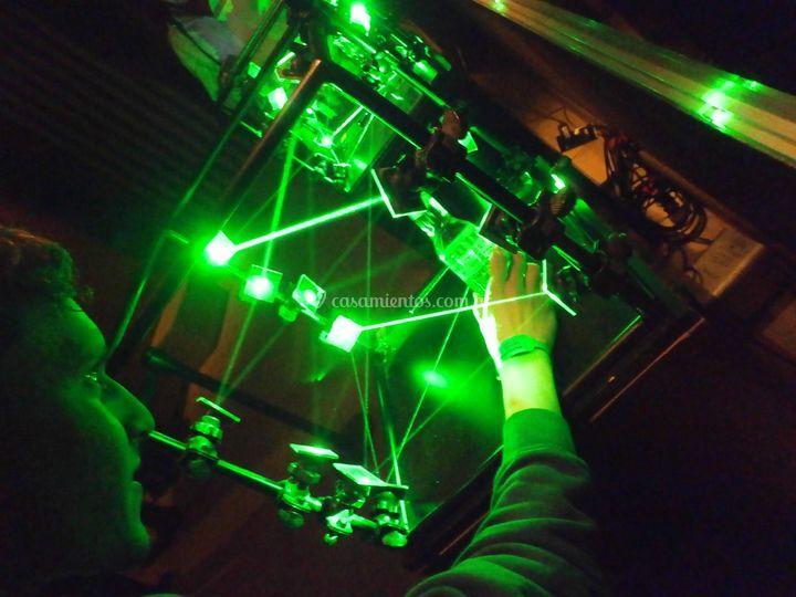 Box laser