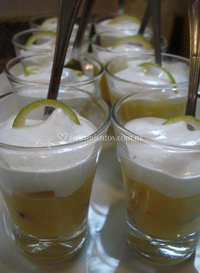 Shots de lemon pie