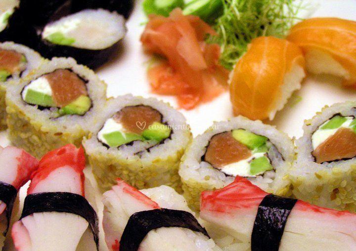 Evento de sushi