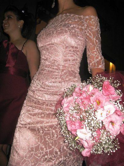 Vestido novia orto o madrina c
