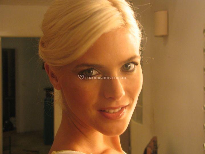Maquillaje de Pia Slapka