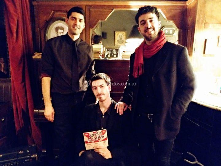 Borghetti jazz session - trio