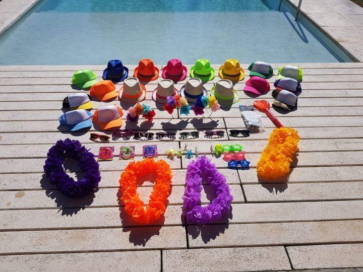 Mucho Color para tu fiesta