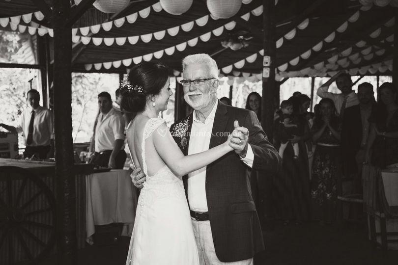 Vals con el padre de la novia