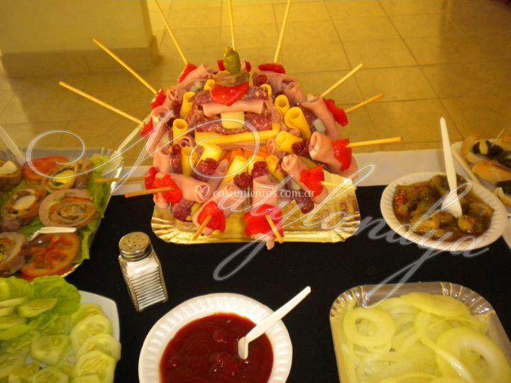 Pinchos salados