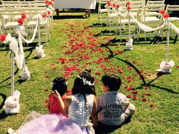 Como lo Soñaste - Ceremonias