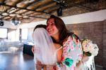 Agradecimiento de novia felíz