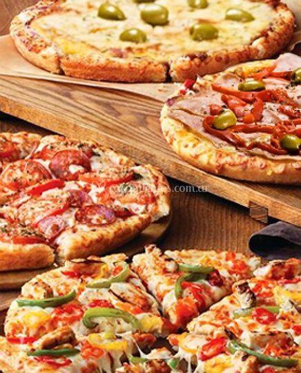 Deliciosas pizzas