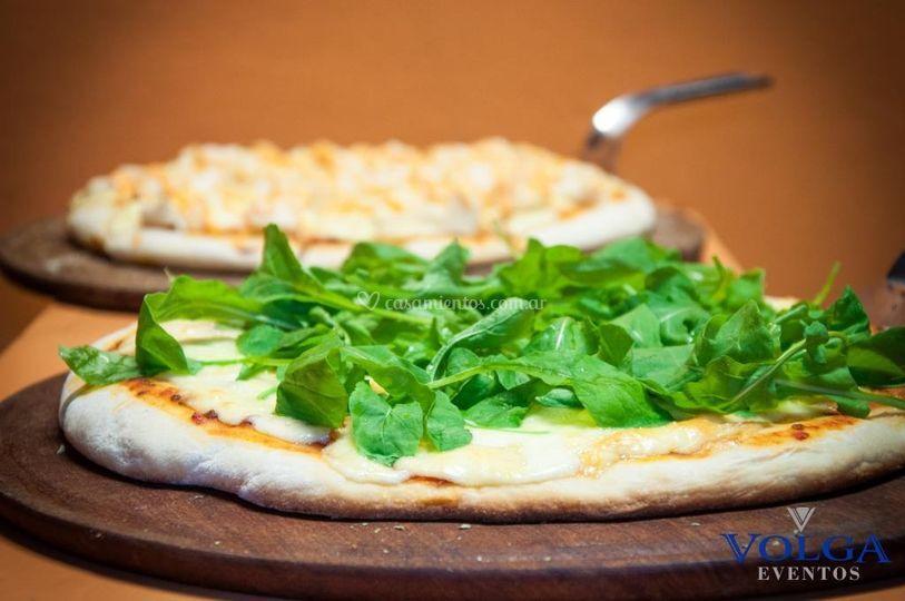 Show de pizzas