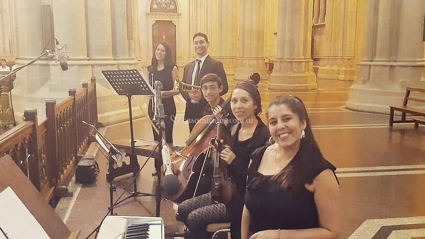 Quinteto en La Plata