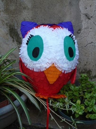Piñata lechuza