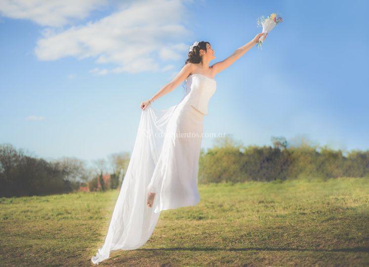 Karina en su pre boda