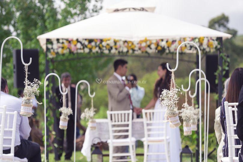 Ambientación de bodas y civil