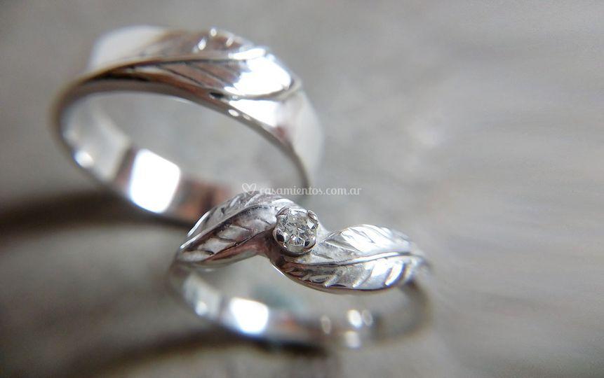 Hojas torzadas | Diamante