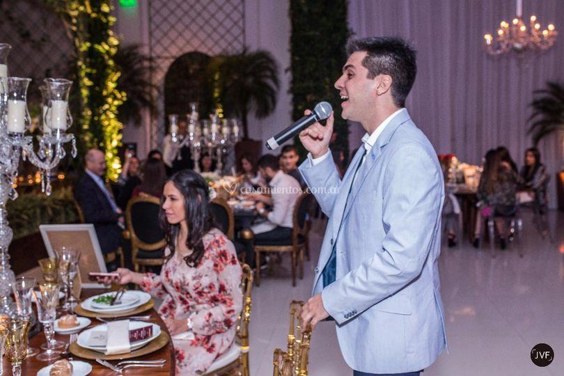 En un evento para novias