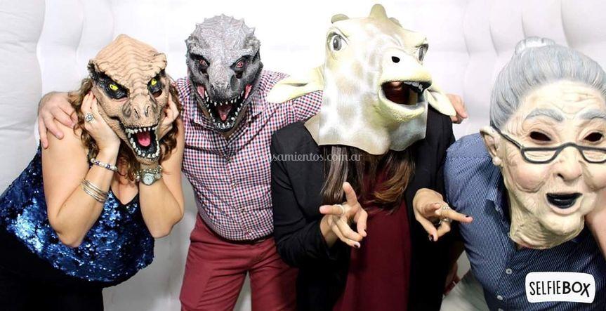 Algunas máscaras