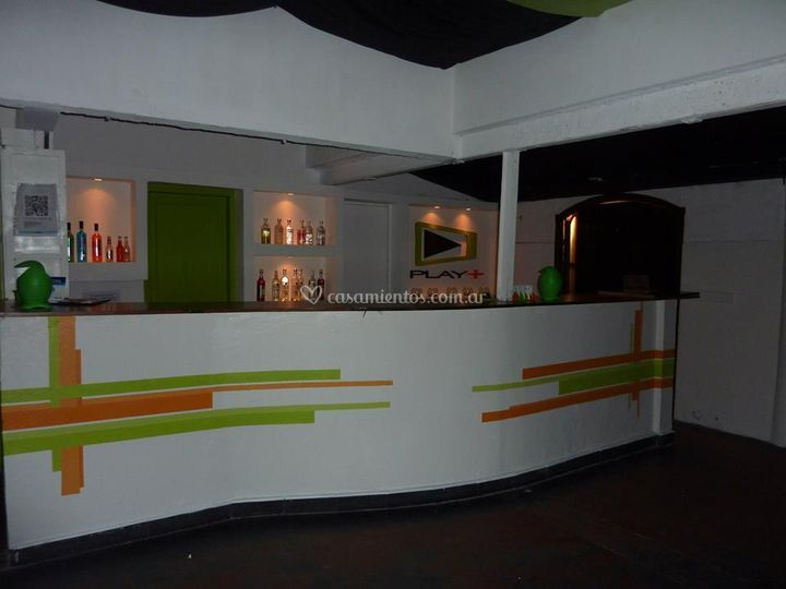 Barra del Bar de Play+