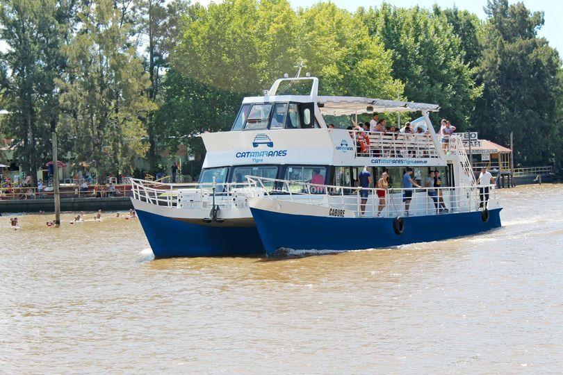Catamarán Caburé