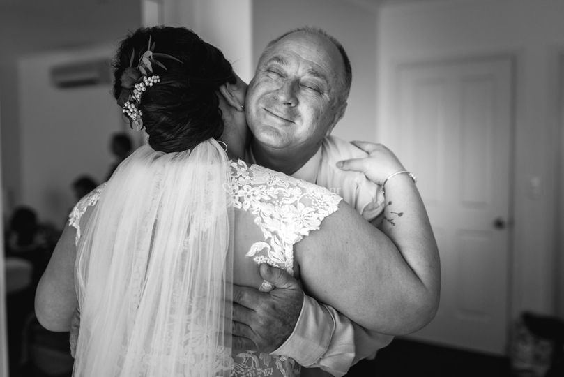 Emocion padre e hija